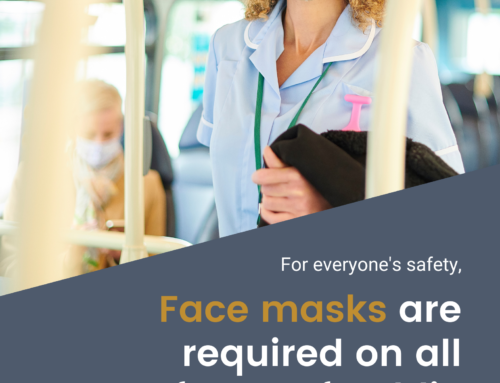 Face Masks Required on Public Transportation