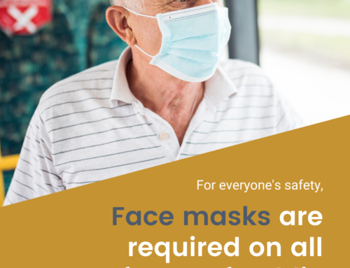 REMINDER: Masks Still Required on All Forms of Public Transportation