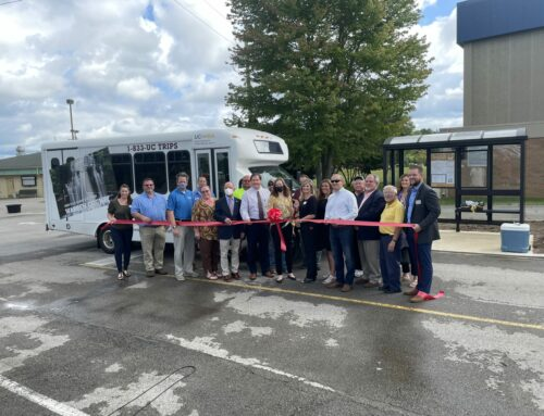 UCHRA's Go Upper Cumberland Public Transportation Route Marks Two Years in McMinnville, Celebrates New Bus Shelters